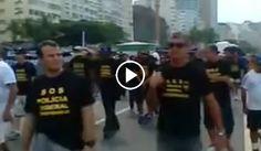 Folha Política: 'Não votem no PT, não se deixem enganar!', gritam policiais federais em protesto; assista ao vídeo