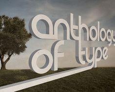 Imágenes con tipografía en 3D para inspirarte | Puerto Pixel | Recursos de Diseño | Página 3