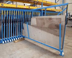 Metal sheet rack vertical 10
