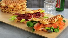 Vafler Kefir, Side Dishes, Lunch, Dinner, Breakfast, Ethnic Recipes, Vegan, Waffles, You're Welcome