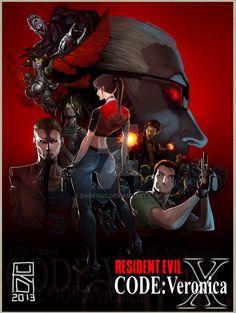 Resident Evil : Code Veronica by Darkdux on DeviantArt