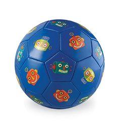 Crocodile Creek Size 2 Soccer Ball - Robots