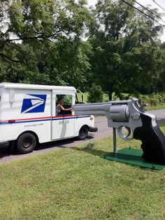 Roger Buchko, a semi-retired cabinet maker in New Jersey, installed his new mailbox in late August.