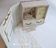 Мой уголок вдохновения: Шкатулочка Мамины сокровища с комнатой.