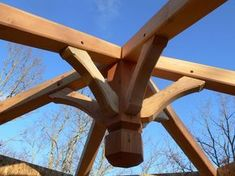 Image result for timber frame reciprocal roof round