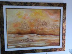 Mais uma pintura minha a óleo