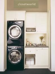 Stacker washer/dryer