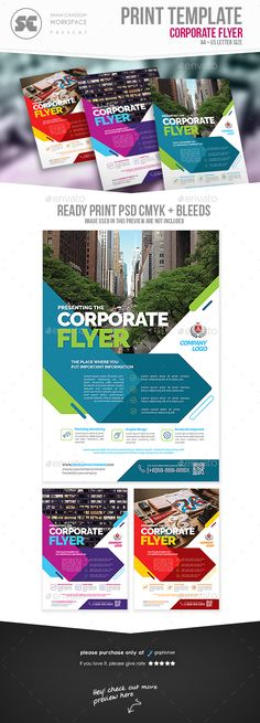 Corporate Flyer Template PSD. Download here: http://graphicriver.net/item/corporate-flyer/16285868?ref=ksioks