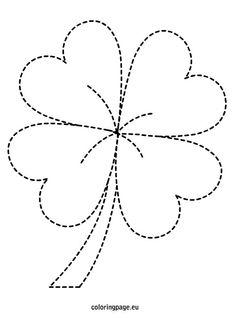 St. Patrick's Day - Four Leaf Clover