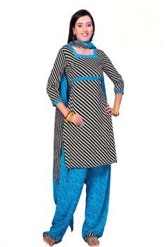Salwar Kameez Sewing Kurta Tunic Patterns, Dupatta Instructions ... Salwar Suit Neck Designs, Neck Designs For Suits, Tunic Pattern, Neck Pattern, Indian Dresses, Indian Outfits, Indian Salwar Kameez, Churidar, Sewing Ideas