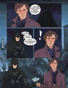 BATMAN / SHERLOCK !!!!!!! PERFECTION !!!!!!!!!
