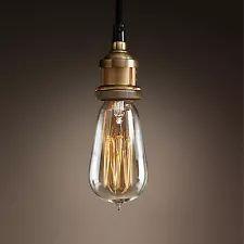 PERMO ANTIQUE RETRO INDUSTRIAL HANGING LIGHTING LAMPHOLDER CEILING PENDANT LIGHT