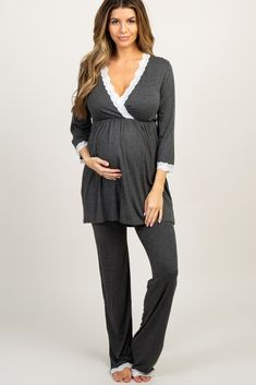 Shop cute and trendy maternity clothes at PinkBlush Maternity. We carry a wide selection of maternity maxi dresses, cute maternity tanks, and stylish maternity skinny jeans all at affordable prices. Maternity Pajama Set, Maternity Maxi, Maternity Skinny Jeans, Stylish Maternity, Pink Blush Maternity, Maternity Fashion, Maternity Outfits, Pajama Bottoms, Lounge Pants