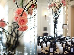 Gorgeous Placecard Table in the Entrance:   Wadsworth Mansion Wedding (Thanks Cynthia Brown Photography!)