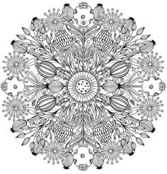 Creative Haven Wondrous Nature Mandalas: A Coloring Book with a Hidden Picture Twist Welcome to Dover Publications Pattern Coloring Pages, Free Adult Coloring Pages, Online Coloring Pages, Cool Coloring Pages, Free Printable Coloring Pages, Coloring Books, Mandalas Painting, Mandalas Drawing, Mandala Artwork