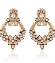Buy Incredoble Gold Plated Jewellery Earrings For Women danglers-drop online