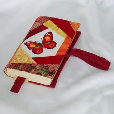 Patchwork Fabric Book Cover | Flickr - Photo Sharing!