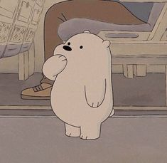 We Bare Bears ~ Polaire 💙 We Bare Bears Wallpapers, Panda Wallpapers, Cute Cartoon Wallpapers, Cute Panda Wallpaper, Bear Wallpaper, Cute Disney Wallpaper, Ice Bear We Bare Bears, We Bear, Bear Cartoon