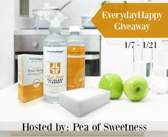 Enter to Win EverydayHappy Cleaning Supplies Giveaway