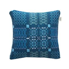 Buy Melin Tregwynt Knot Garden Cushion from our Cushions range at John Lewis & Partners. Bed Throws, Throw Pillows, Welsh Blanket, Pembrokeshire Coast, Garden Cushions, Cushions Online, Wool Fabric, Lampshades, Cushion Covers