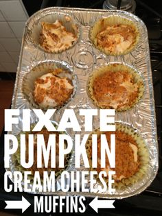 The Best 21 Day Fix Tips! Clean Eating Pumpkin and Cream Cheese muffins 21 Day Fix Desserts, 21 Day Fix Snacks, 21 Day Fix Diet, 21 Day Fix Meal Plan, Healthy Desserts, Dessert Recipes, Healthy Foods, Pumpkin Cream Cheese Muffins, Pumpkin Cream Cheeses