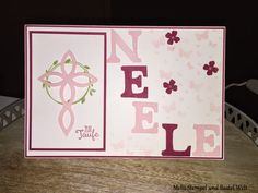 Stampin Up, Taufkarte, Kinderkarte, Kids, Perfekter Tag, Elegantes Gitter, Perpetual Birthday Calender