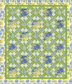 FreeSpirit Fabrics - See what's new on their agenda and check out the latest collection, Glorious Garden, debuting from their newest designer to the team, April Cornell.