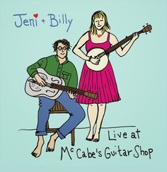 New CD! Live at McCabe's is OUT NOW! Get it here: http://www.cdbaby.com/cd/jenibilly3