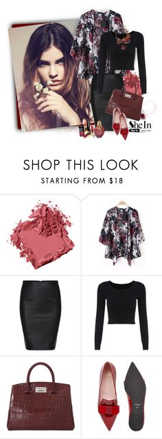 """""""Floral Loose Kimono***"""" by ksenia-lo ❤ liked on Polyvore featuring Bobbi Brown Cosmetics, MaxMara, Chanel, Pretty Ballerinas, women's clothing, women, female, woman, misses and juniors"""