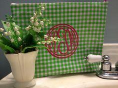 Large oilcloth waterproof cosmetic bag beach bag large makeup bag