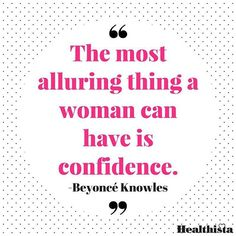 Wise words from Queen B - confidence is key 💕#inspirationdaily #beyonce #queenb word #wordoftheday #quotes #quote #qotd #quoteoftheday #quoteoftheweek #quotesdaily #quotestoliveby #morning #morningmotivation #inspired #inspiringquotes #inspiringwords #wellness #health  #instagood #beauty #beautyguru #bbloggers