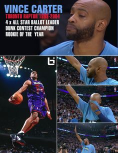 Vince Carter Gets Very Emotional During The Toronto Raptors Video Tribute To Him. Click here to read more & to watch the emotional video: http://ballislife.com/vince-carter-get-very-emotional-during-raptors-video-tribute/