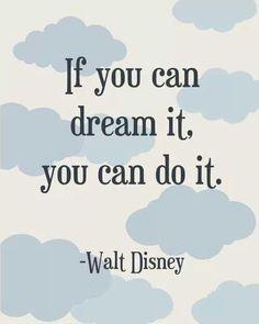 Disney - dream it, do it