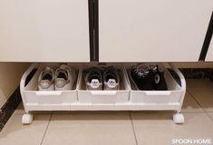 ニトリの押入れ収納キャリーのブログ画像