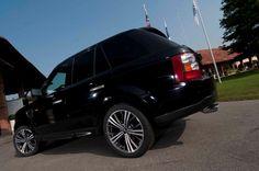 "Cortina 19"" on Range Rover Sport HSE #OZRACING #ALLTERRAIN #CORTINA #RIM #WHEEL"