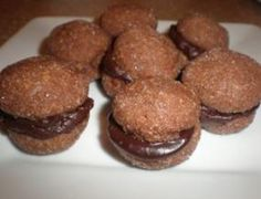 Italian Baci di Cioccolato - Chocolate Kiss Cookies. Find the recipe at http://www.mangiabenepasta.com/choc_baci.html