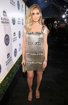 Fashion blogger Chiara Ferragni attends The Art of Elysium presents Stevie Wonder's HEAVEN - Celebrating the 10th Anniversary at Red Studios on January 7, 2017 in Los Angeles, California.