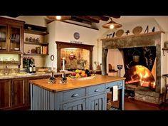 55 Cozy Country Kitchen Ideas - YouTube Cozy Kitchen, Rustic Kitchen, Country Kitchen, Kitchen Ideas, Rustic Farmhouse, Primitive Kitchen, Kitchen Inspiration, Kitchen Tips, Kitchen Storage