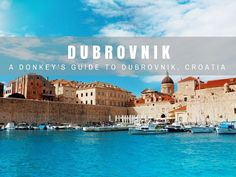 Dubrovnik Travel Blog: The 'Pearl of the Adriatic' draws in millions of people, if you're soon to be one of them here's a list of things to do in Dubrovnik, as well as activities, restaurants, beaches and bars.