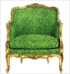 Chair Couture. Green.
