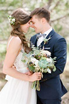 The sweetest Rustic Colorado wedding: http://www.stylemepretty.com/little-black-book-blog/2016/06/09/succulents-cute-kids-sweet-colorado-celebration/ | Photography: Tamara Gruner Photography - http://tamaragruner.com/