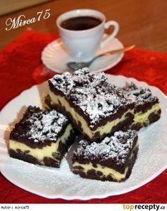 Strouhaná buchta II Sweet Cakes, Nutella, Tiramisu, Food And Drink, Sweets, Chocolate, Cooking, Ethnic Recipes, Desserts