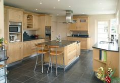 How to Clean Slate - Kitchen Flooring