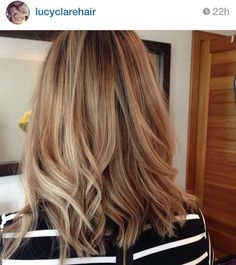Love the cut and color #highlights #longbob