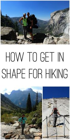 Want to hit the trails or bag some peaks? This will tell you everything you need to know about how to get in shape for hiking and the answer isn't always more cardio! hiking How to Get in Shape for Hiking Backpacking Tips, Hiking Tips, Hiking Gear, Hiking Backpack, Hiking Checklist, Backpacks For Hiking, Ultralight Hiking, Travel Backpack, Fitness Workouts