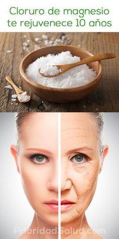 Mira cómo aprovechar los beneficios del cloruro de magnesio para verse más joven y disfrutar de más energía y salud.