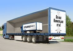 Semi truck photoshopped #FreightCenter #photoshop #marketing #Transporation