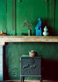 Méchant Studio Blog: dark green effect