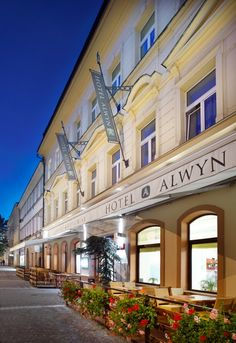 Hotel Alwyn - Prague, Czech Republic - 24 Rooms - Hästens Beds http://www.hastensnortherncalifornia.com/
