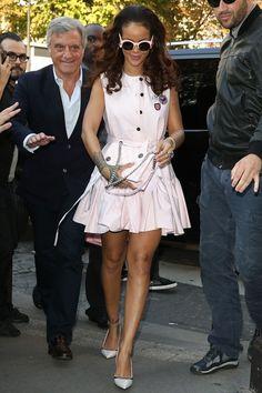 Rihanna en Dior en octobre 2015